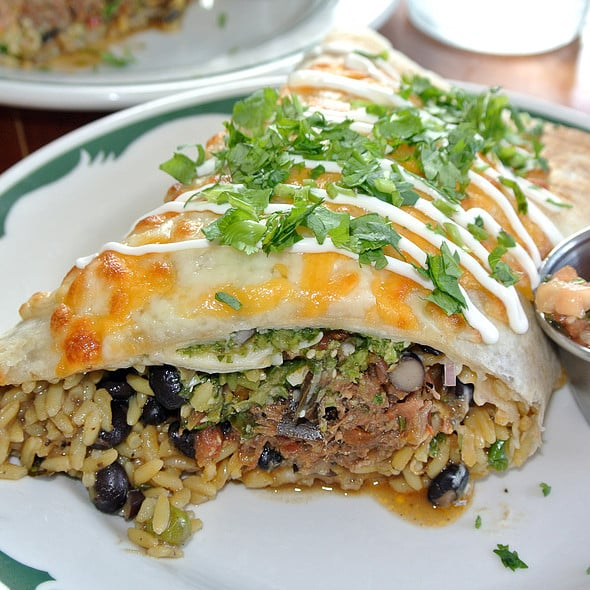 Carne Burrito