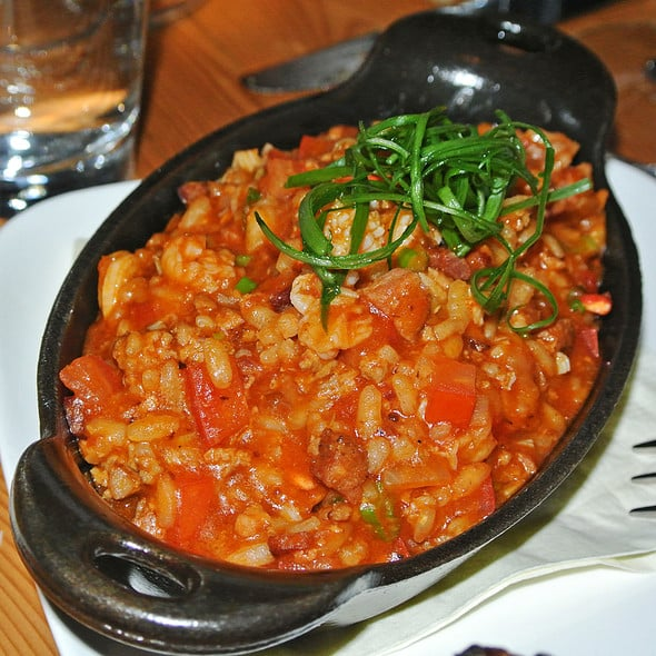 Cast Iron Lobster Jambalaya