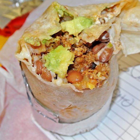 Chorizo Super Burrito