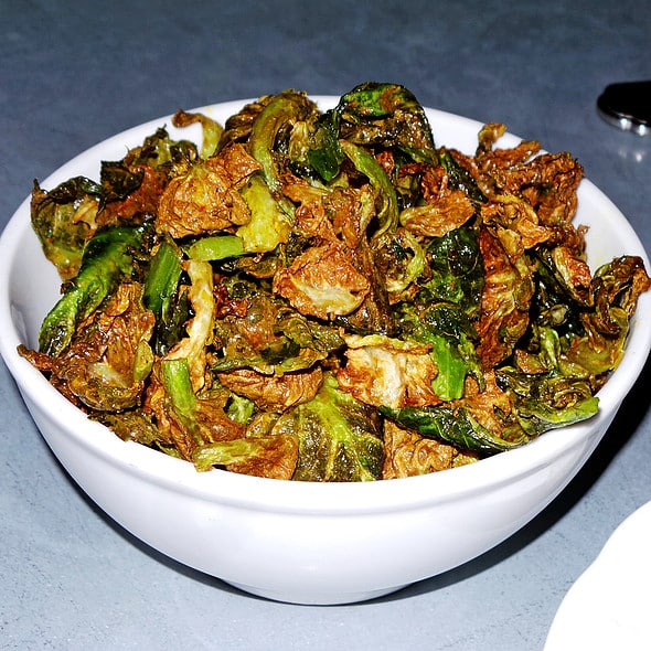 Crispy Brussels Sprout Chips