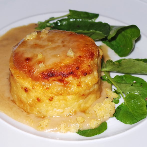 Welsh Rarebit Soufflé