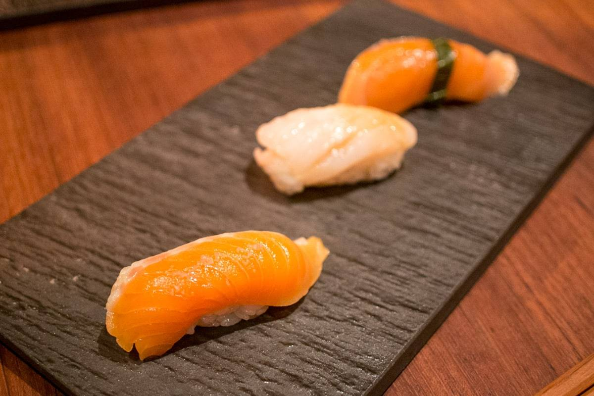 Pristine, but Pricey Sushi Tasting Menu on Divisadero