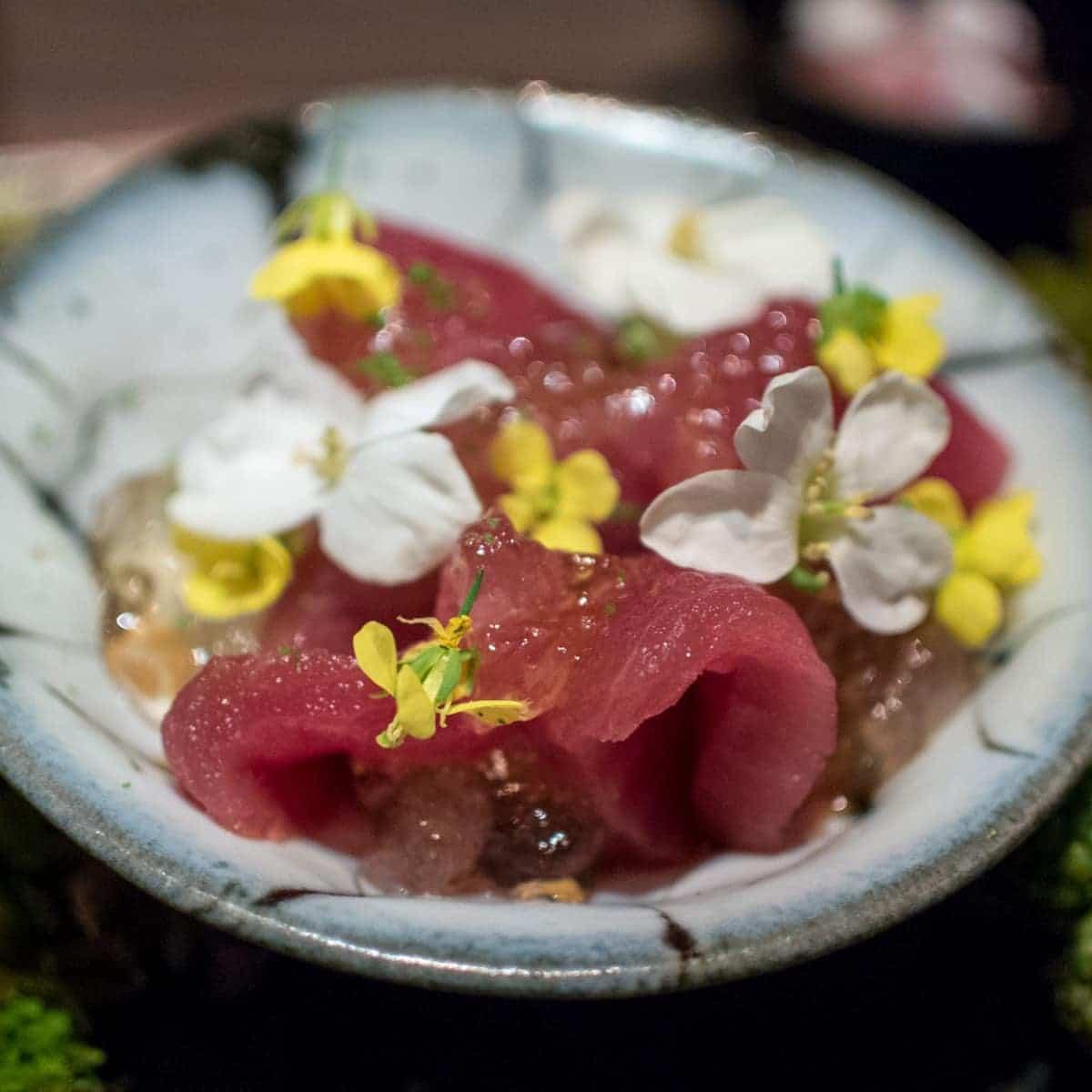 Traditional japanese wedding foods - Sashimi
