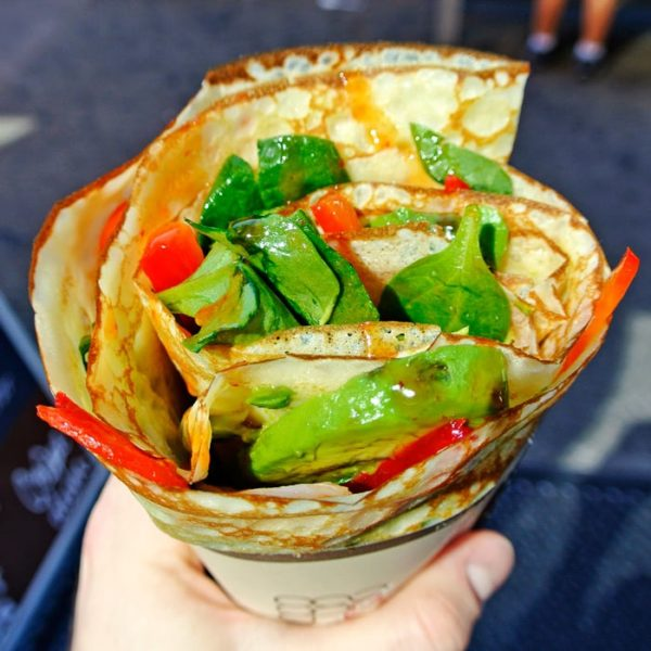 Savory & Sweet Japanese Crepes at Eight Turn Crêpe in NYC