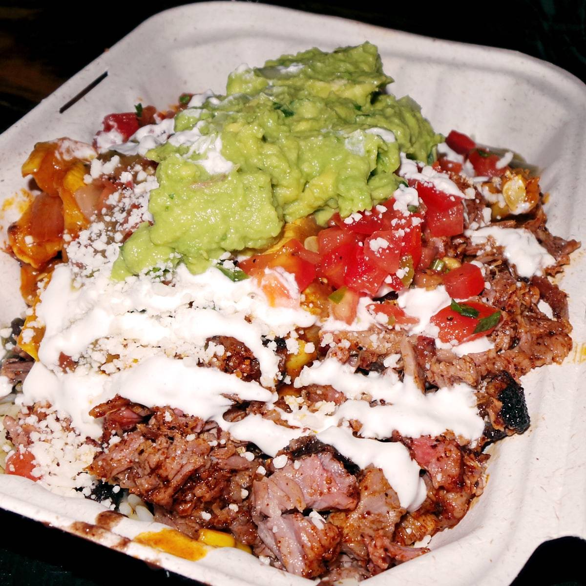 Real Deal Texas Barbecue Burrito Bowls in NYC at Tres Carnes