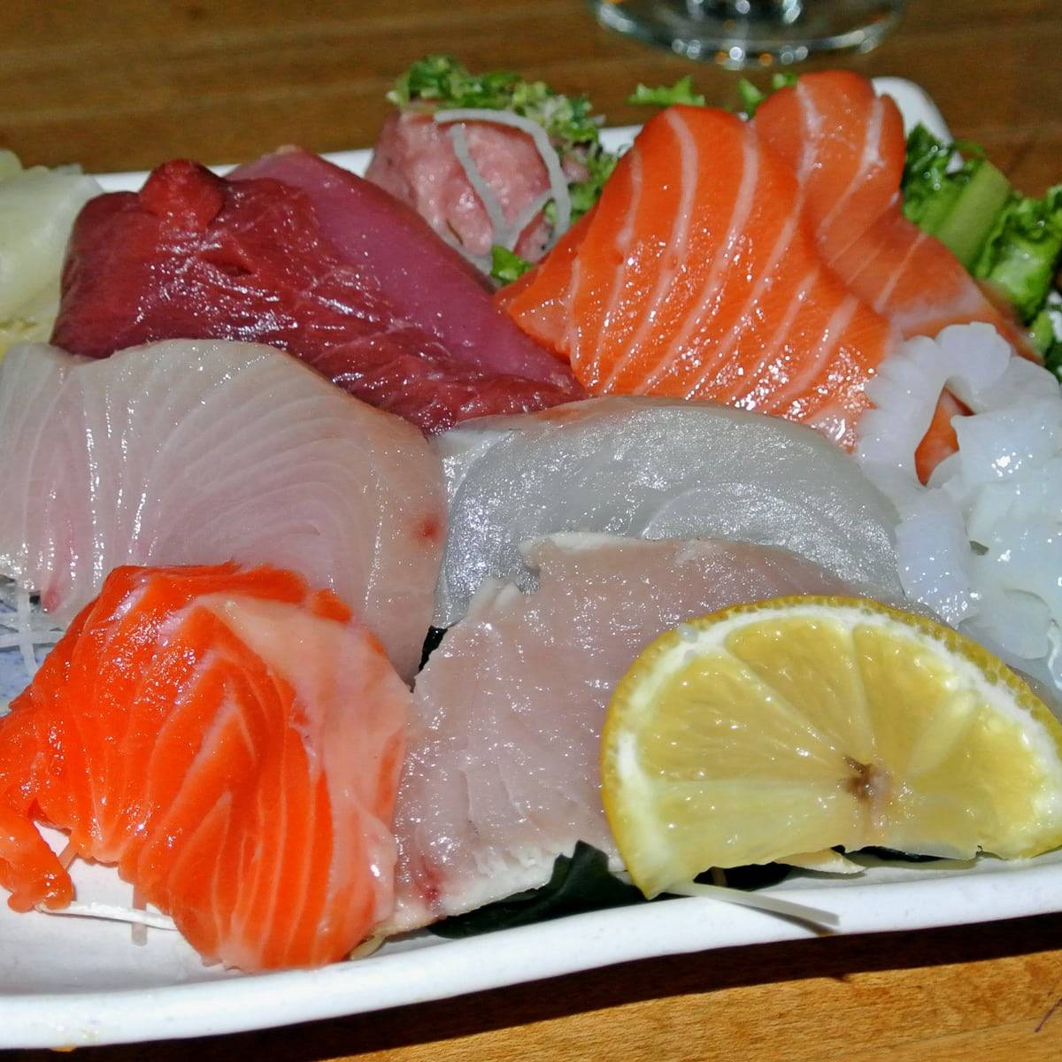 An Incredible Lunch Special with Super Fresh Sashimi at Tomoe Sushi