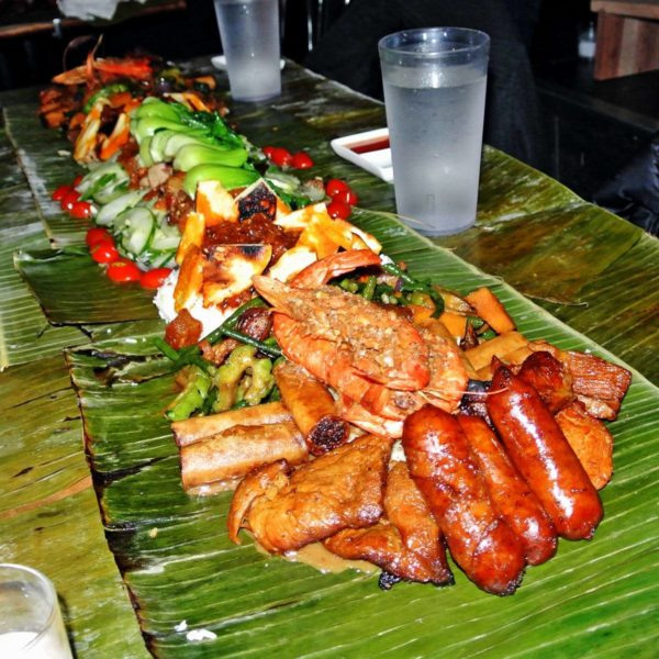 Eat a Filipino Feast with Your Hands on Kamayan Night at Jeepney