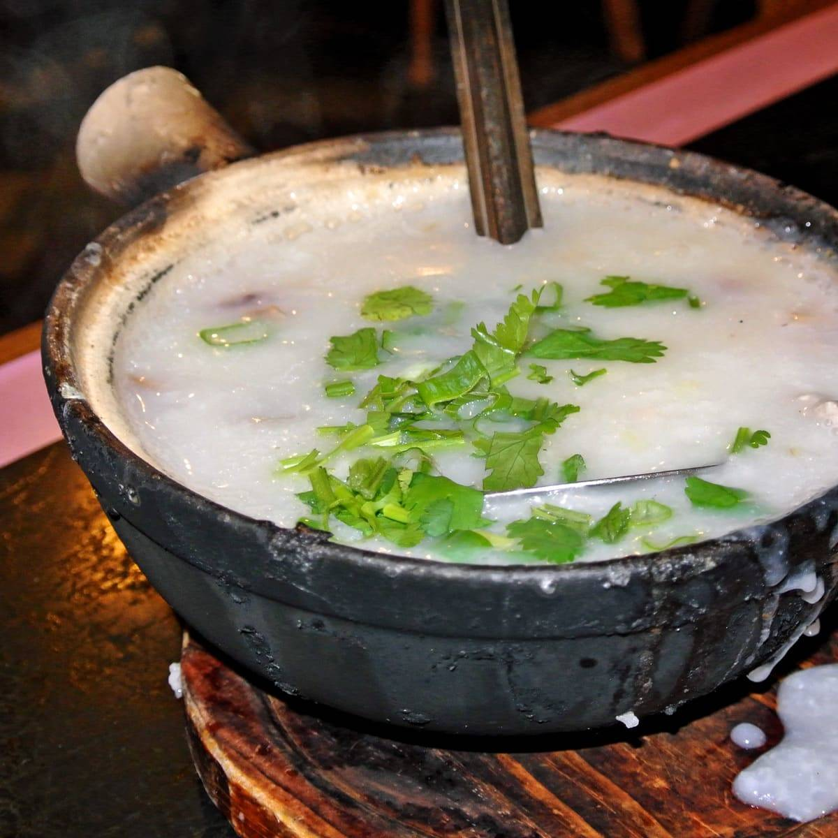Chinatown's Perfect Hangover Cure at Congee Village in NYC