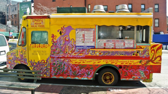A Rare Y Indian Take On Chili At The Desi Food Truck In Soho