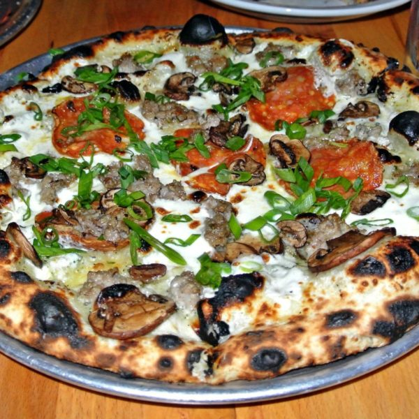 Real Roberta's Brooklyn-Style Pizza, Cocktails, and More at Oak & Rye in Los Gatos
