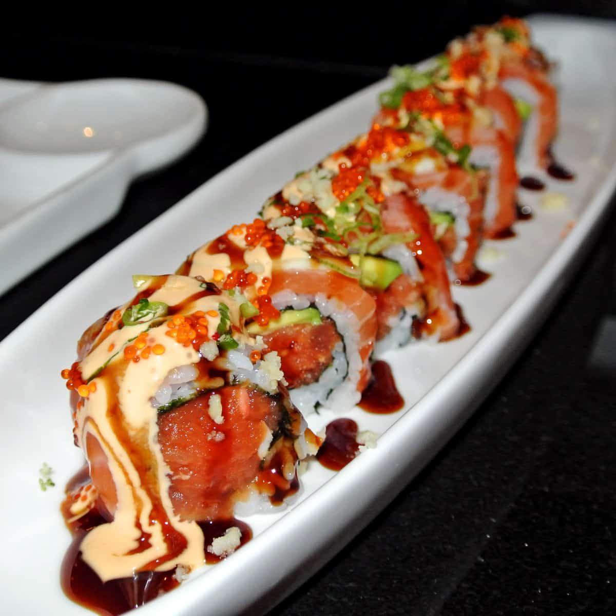 Intriguing, Non-Traditional Sushi Rolls at Sushi Confidential in Campbell