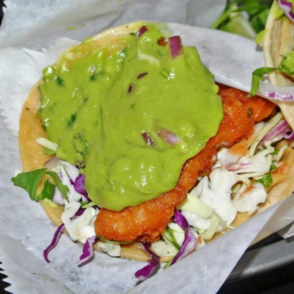 Eat Killer Fish Tacos in a Burlesque at Nick's Crispy Tacos in Russian Hill
