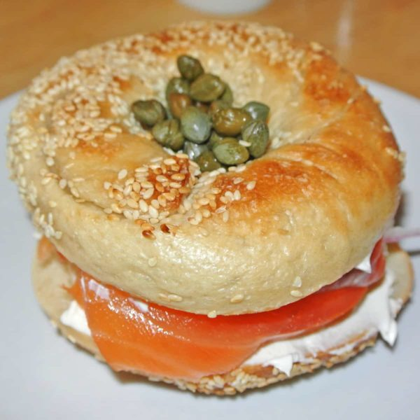 Sampling the Much-Hyped Black Seed Bagels at Mile End Delicatessen in NoHo