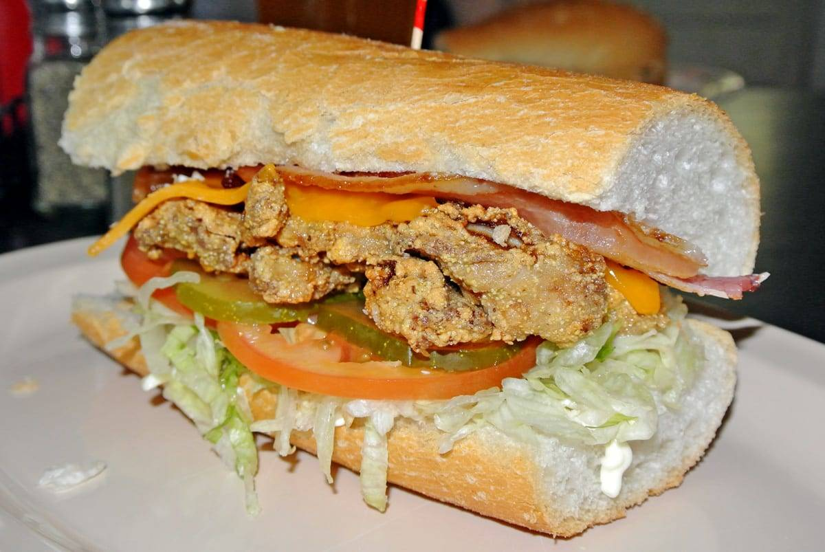 Emeril & Guy Fieri BOTH Love Mahony's Po-Boy Shop on Magazine St.